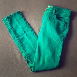💥ON SALE!!!💥Teal Green jeans